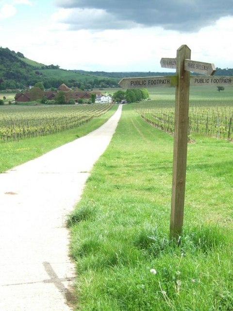 Bridleway meets Footpath