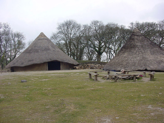 Castell Henllys Iron Age Village Reconstruction