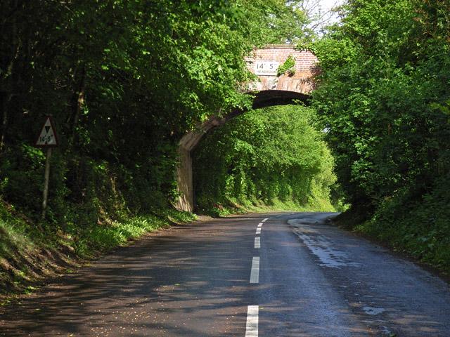Bridge near Hackwood House