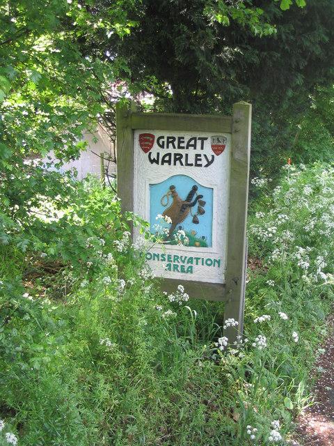 Village Sign - Great Warley