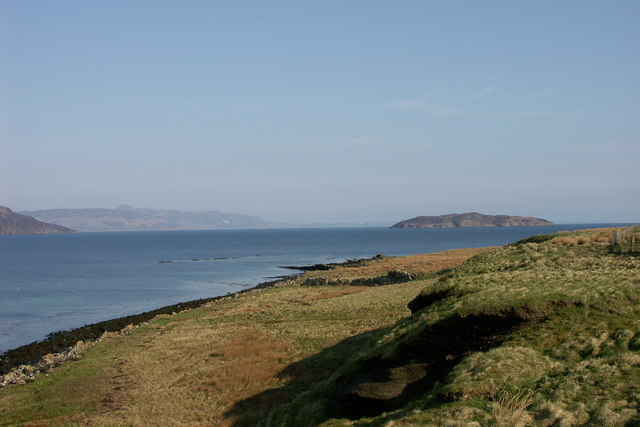 A north westward view from the Isle of Pabay