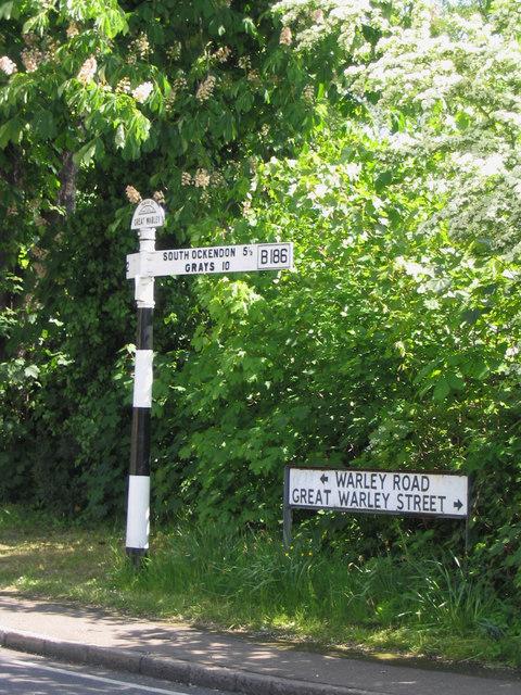 Fingerpost - Great Warley