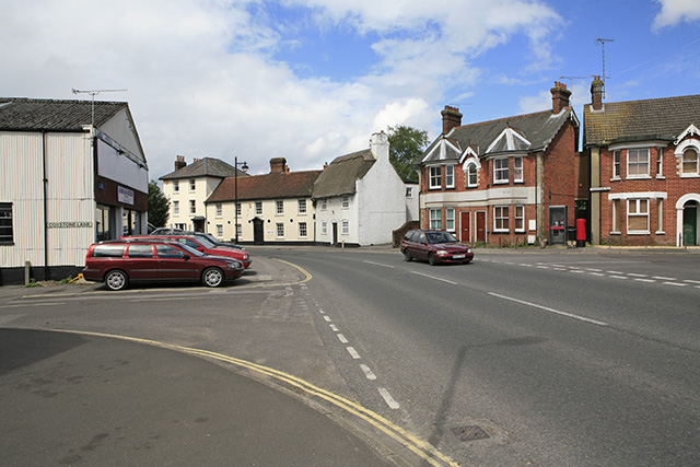 Christchurch Road junction, Ringwood