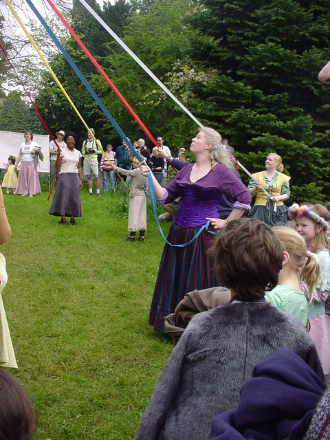 Michael House School - Maypole Dancing