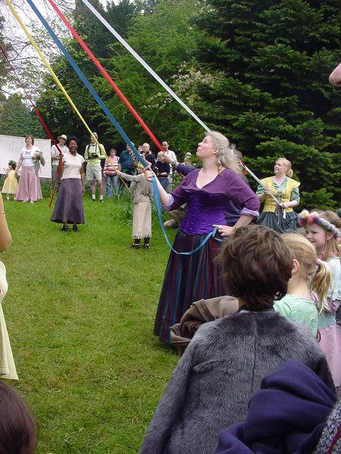 Michael House School - Maypole Dancing