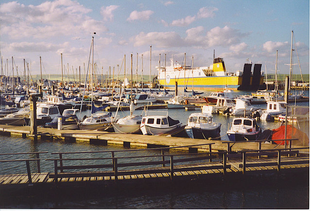 Newhaven Marina and Ferry.