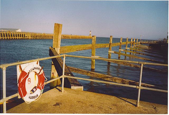 Newhaven Harbour Entrance.