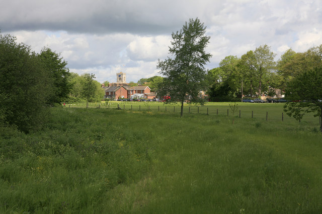 View across The Bickerley from Castleman Trailway