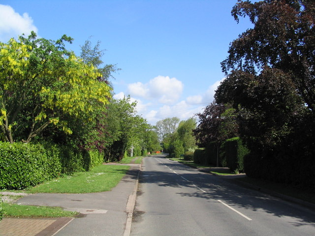 Stanton-on-the-Wolds, approaching Keyworth