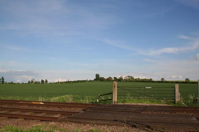 Footpath rail crossing