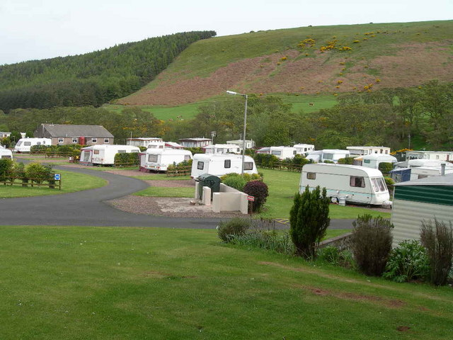 Chesterfields Caravan Park, Forest & Hillside