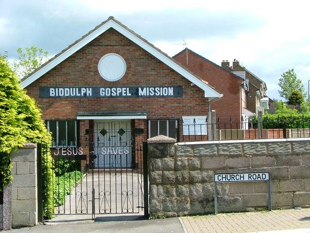 Biddulph Gospel Mission