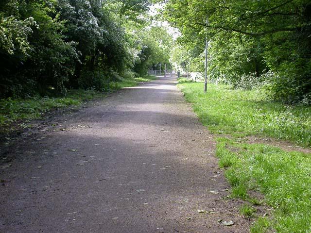 Cycleway through Housing Estates