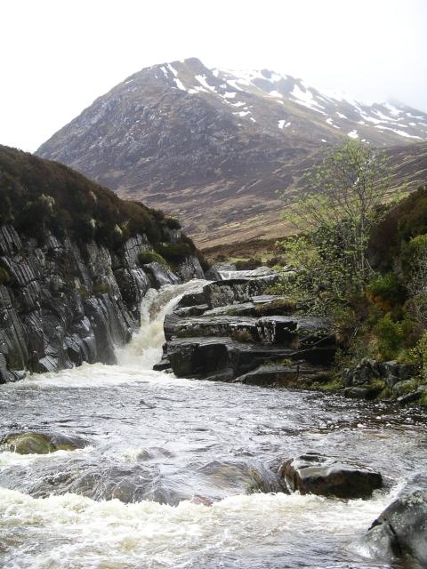 Waterfall, Abhainn Gleann nam Fiadh