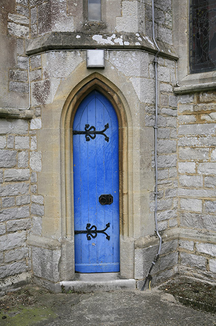 Slimmer's door, Ringwood Church