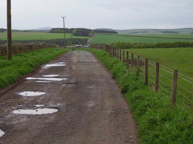 Farm track, Blackburn