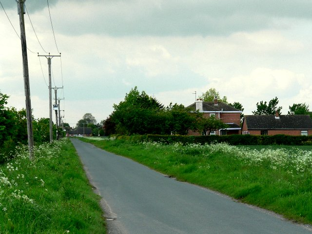 The road from Sandholme to Eastrington