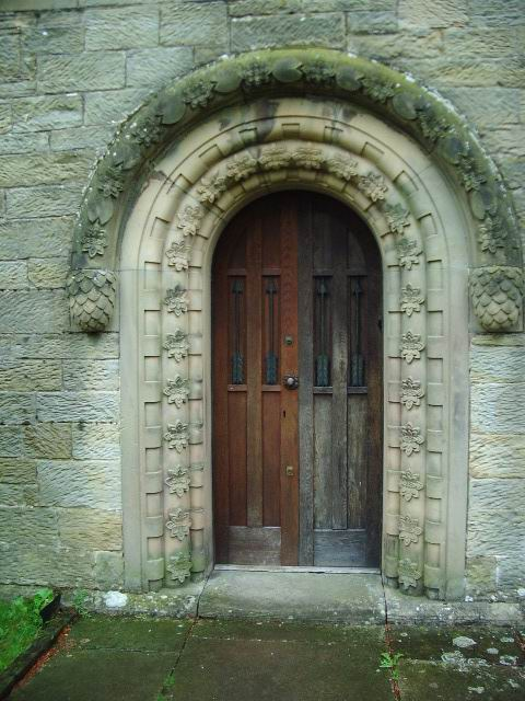 Main Door, St Mary's Church, Wreay