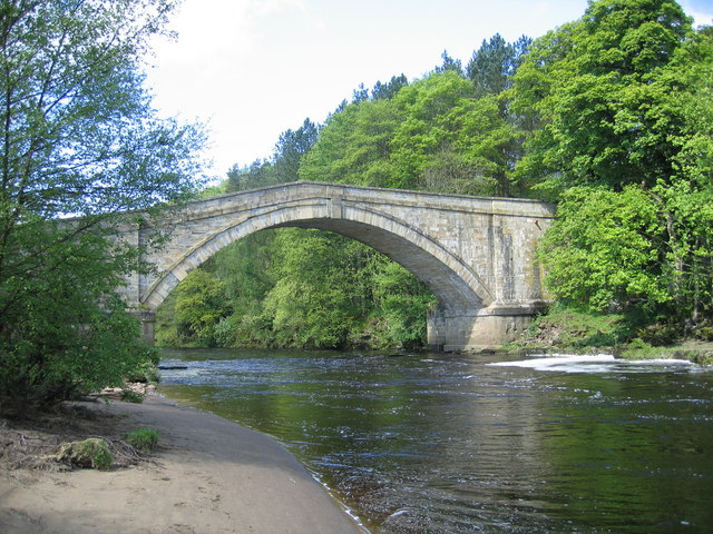 Featherstone Bridge, River South Tyne