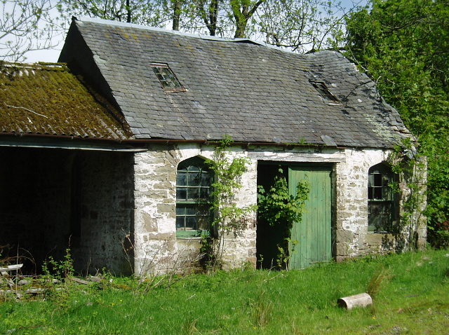 Derelict building, Upper Lanrick