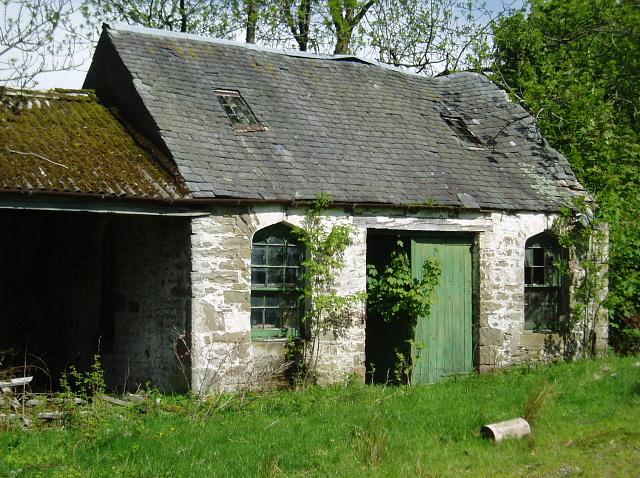 Derelict building, Upper Lanrick