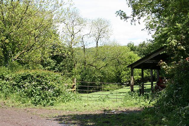 Clayhidon: near Crosses Farm