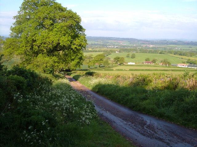 Holcombe Lane at Moor Croft Farm