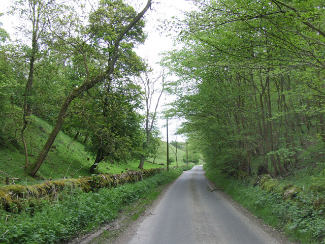 Country Lane leading to Parwich.