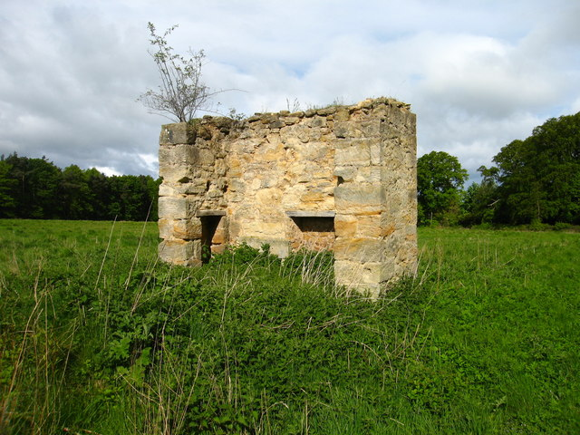 Ruined Building at Fountainhall