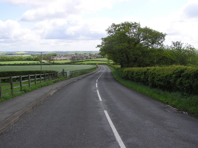 Lane from Cockfield to Evenwood.