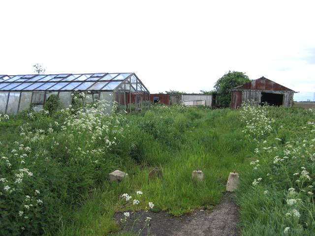 Derelict agricultural holding, Surfleet, Lincs