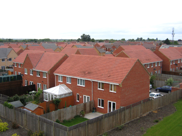 Roofscape, south Biggleswade, Beds
