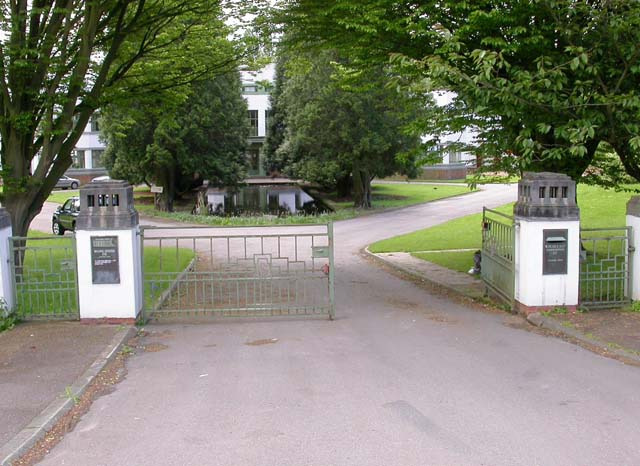 Entrance to an Industrial Estate