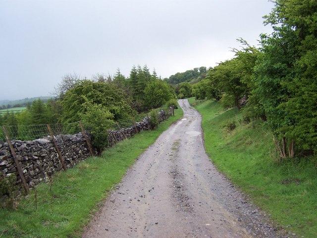 High Lane near Witton Steeps