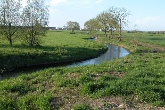 Bourne Brook near Woodmancote