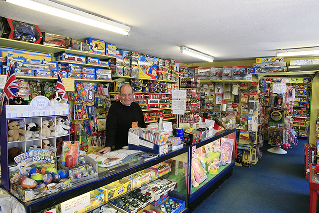 Interior of Streets Toy Shop, Ringwood