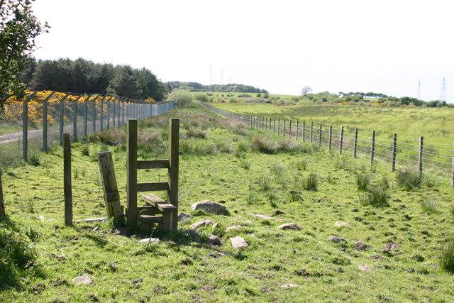 Public Footpath Broughton Moor