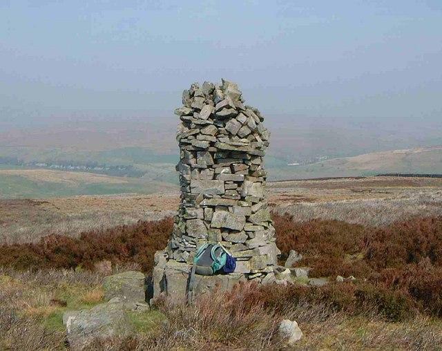 Summit Cairn on Kisdon Hill