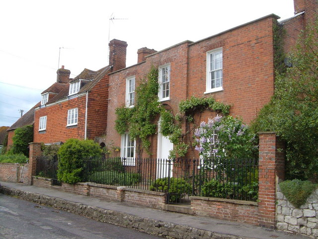 Houses in Smithers Lane, Hale Street