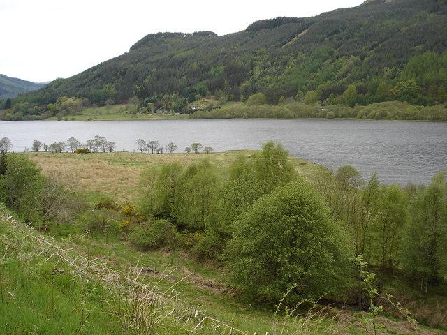 Alluvial Fan on Loch Lubnaig