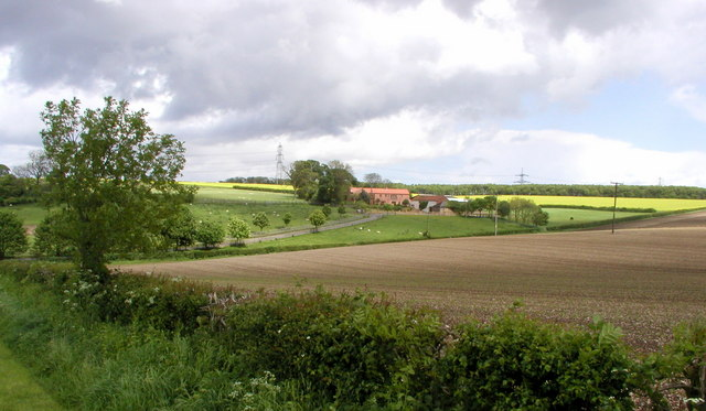 A Yorkshire Wolds farm