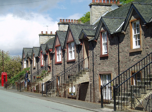 Mill workers' houses, Deanston