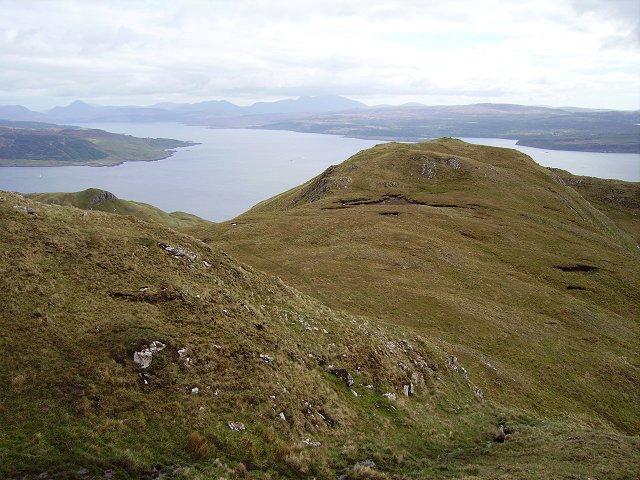 Southwest ridge, Ben Hiant