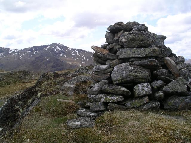 Summit Cairn, Carn a' Choire Ghairbh