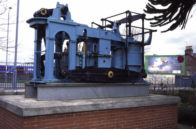 Engine of Paddle Steamer Leven, Dumbarton