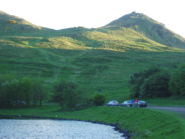Holyrood Park from Dunsapie Loch