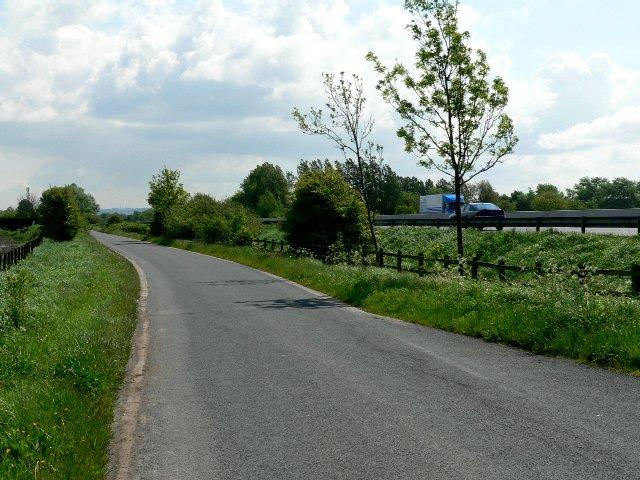 Landing Lane between Sandholme and Sandholme Landing