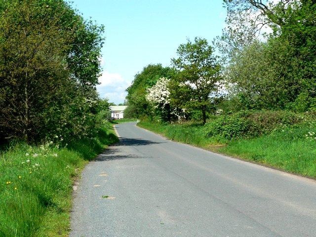 Landing Lane looking towards Sandholme