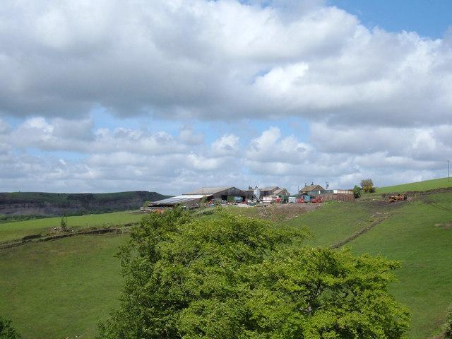 Farm at Top O' Th' Hill, Newhey
