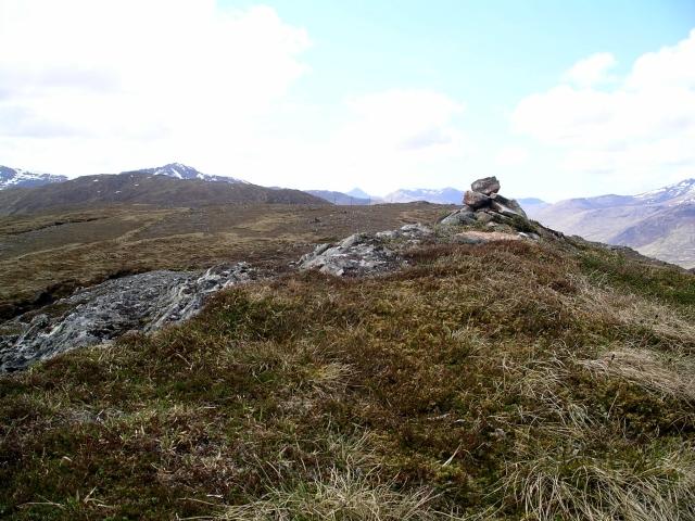 Summit cairn, Carn Glas lochdarach